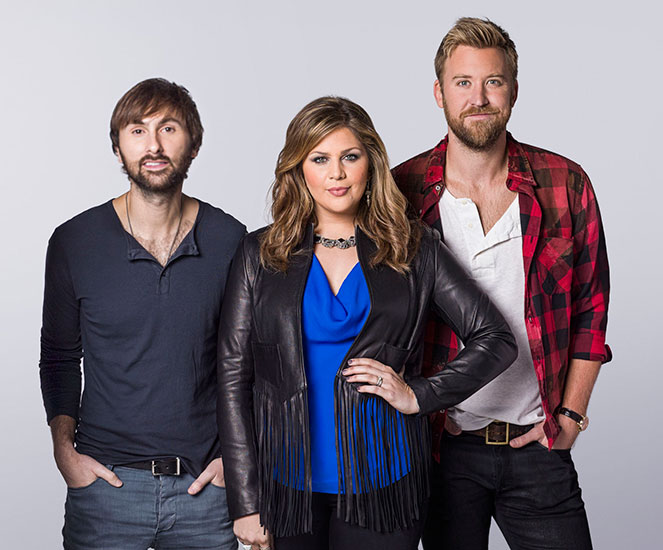 Fair adds 1,000 track seats  for Lady Antebellum concert