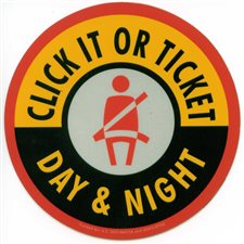 Click It Or Ticket over the Memorial Day holiday through June 5