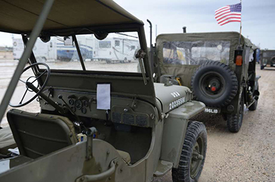 Approximately 65 military vehicles spanning from World War II to the present day will arrive in Delphos Saturday afternoon as part of the Military Vehicle Presentation Association convoy celebrating the 100th anniversary of Dwight D. Eisenhower's trip across American with the Army on Lincoln Highway in 1919. (Photo submitted)