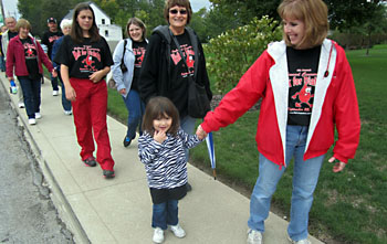 The Walk for Diabetes set Saturday in Oakwood has quintupled participation since its inception in 2009. (Submitted photo)